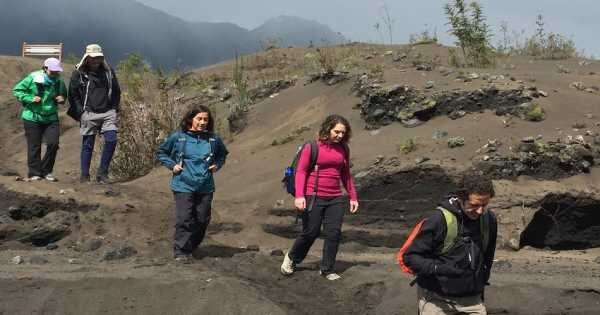 Volcan Osorno Desolacion Hike with Petrohue Falls on a Private Tour