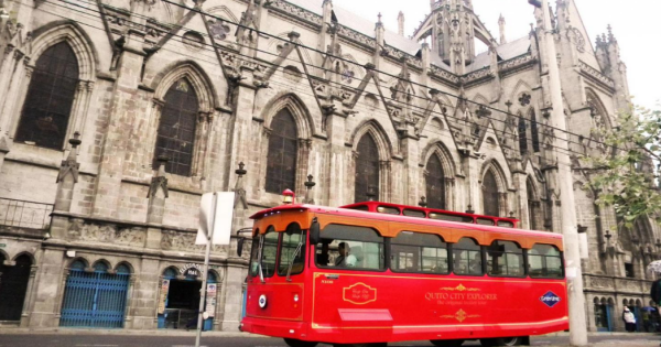 The Original Quito City Tour in Trolley