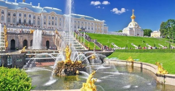 St. Petersburg Half Day Excursion to Peterhof with a Grand Palace