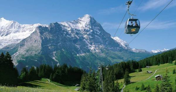 Grindelwald and Interlaken